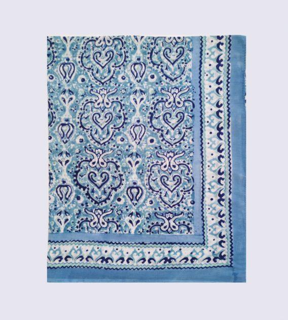 Paréo Arabesques Bleues