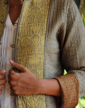 Vestes en soie