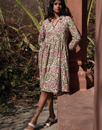 Robe Tara Fleurs Tropicales