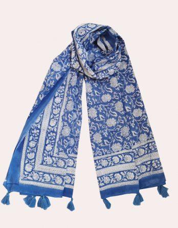 Indienne Bleu de France